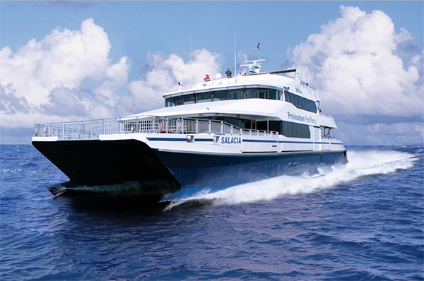 Boston Harbor Cruises' Provincetown Fast Ferry